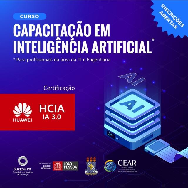 Profissionais do setor de tecnologia terão acesso a curso gratuito de capacitação em Inteligência Artificial