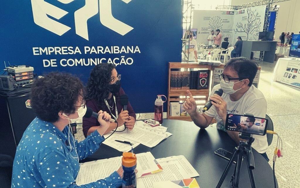 Presidente da SUCESU PB é entrevistado no programa da Rádio Tabajara transmitido direto da EXPOTEC 2021